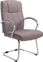 Clp Basel V2 Bezoekersstoel - Stof - Taupe