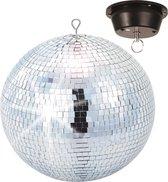 BeamZ spiegel disco bal - 30cm inclusief motor
