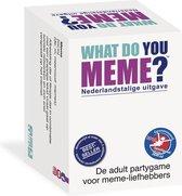 What do you Meme? Nederlandstalige uitgave - Party / Kaartspel ideeal voor Feestjes!
