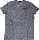 Pme legend blauw gestreept slim fit shirt - Maat XL