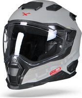 Nexx X.WST2 Unit-X Mat Grijs Integraalhelm - Motorhelm - Maat S