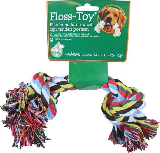 Floss-toy gekleurd middel
