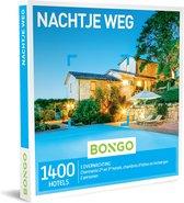 Bongo Bon - Nachtje Weg Cadeaubon - Cadeaukaart cadeau voor man of vrouw | 1400 gezellige hotels