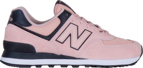 bol.com | New Balance Sneakers - Maat 39 - Vrouwen - roze/zwart