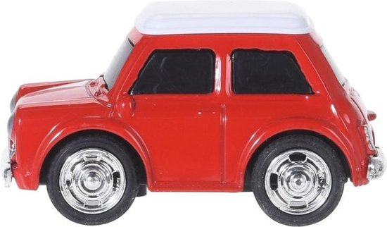 Tender Toys Speelgoedauto Rood 7 Cm