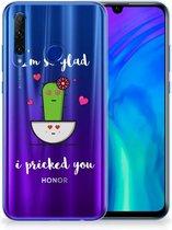 Honor 20 Lite Telefoonhoesje met Naam Cactus Glad