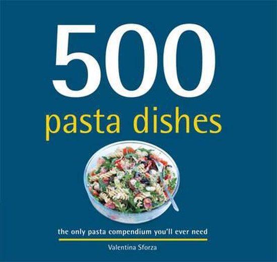 Boek cover 500 Pasta Dishes van Valentina Sforza (Hardcover)