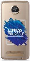 Motorola Moto Z2 Play Hoesje Express Yourself