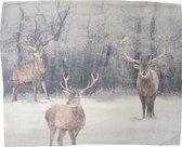 Heckett & Lane Elk Kussensloop - Flanel - 60x70 cm