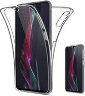 Samsung Galaxy A20E - Dubbel zijdig 360° Hoesje - Transparant