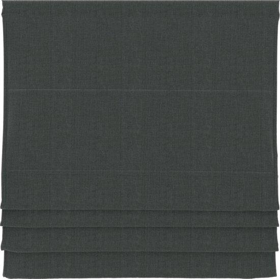 BloomTheRoom vouwgordijn - Antraciet - Verduisterend - 120x180 cm