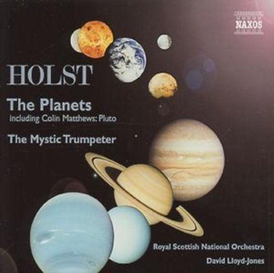 Holst: The Planets, The Mystic Trumpeter / Lloyd-Jones, RSNO