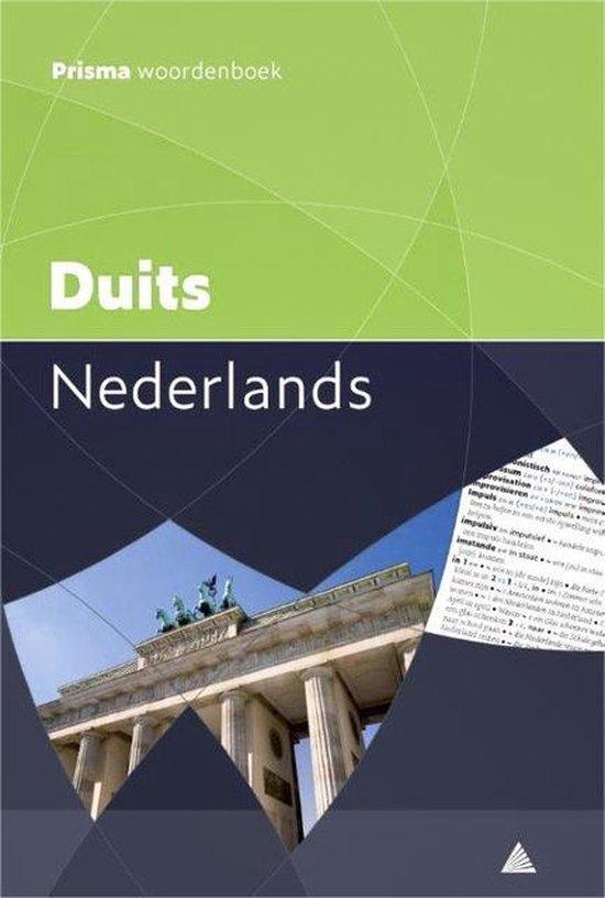 Boek cover Prisma pocketwoordenboek Duits-Nederlands van J.A.H. van Gemert (Paperback)