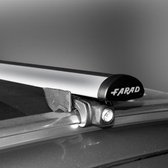 Dakdragers Toyota Auris Touring Sport vanaf 2013 met gesloten dakrails - Farad aluminium