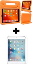 BTH iPad 6 Kinderhoes Kidscase Cover Hoesje Met Screenprotector Oranje