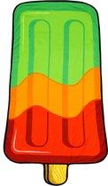 Yello Strandlaken Ijsje 85 X 165 Cm Groen/oranje/rood