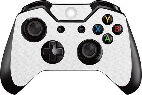 Carbon white – Xbox One controller skin