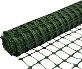 SORARA Plastic Kunststof Hek - Groen - 1,2m x 30m - Duurzaam