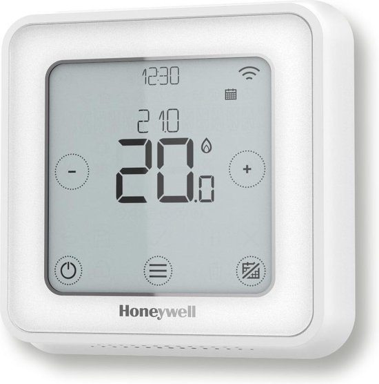 Honeywell Lyric T6 Slimme Thermostaat Wit - Bedraad