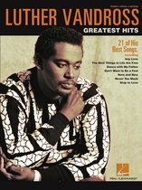 Boek cover Luther Vandross - Greatest Hits (Songbook) van Luther Vandross (Onbekend)