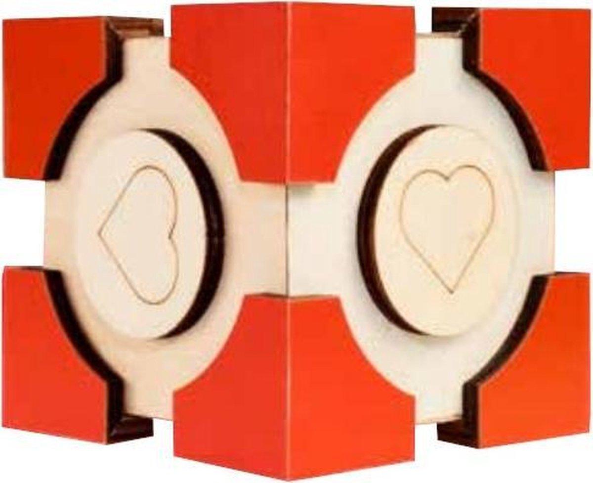 Eureka 3d Puzzle Geheimendoos Liefde 9 Cm