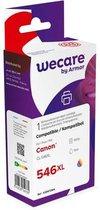 Wecare Gereviseerde inktjet cartridge 8288B001, één pakket, 560p, 3 kleuren, compatibel met CANON CL-546XL