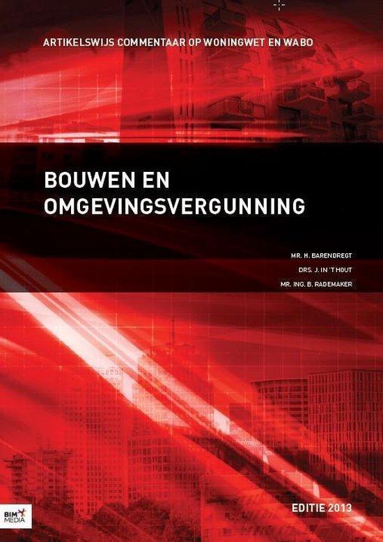 Bouwen en omgevingsvergunning 2013 - H. Barendregt pdf epub