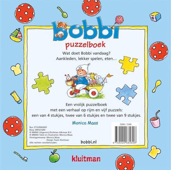 Bobbi  -   Bobbi puzzelboek