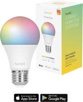 Hombli Smart Lamp -Wit en gekleurd licht- Dimbaar E27 LED - Wifi