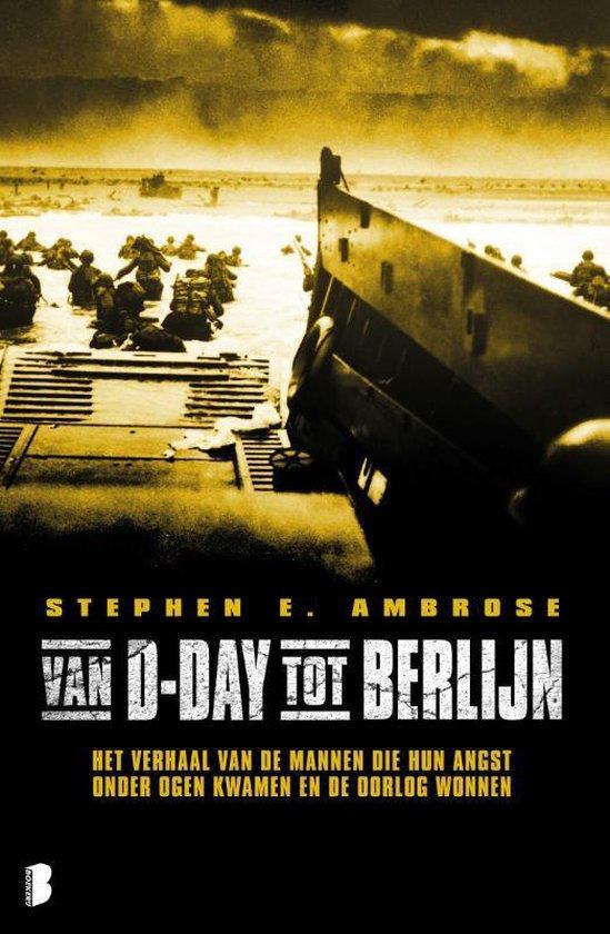 Boek cover Van D-day tot Berlijn van Stephen E Ambrose (Paperback)