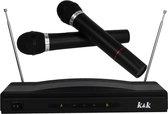 Karaoke set met Microfoon - Voor kinderen en Volwassenen - 2 Microfoons
