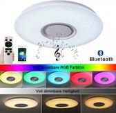 Bluetooth-plafondlamp met RGB verlichting | Met APP-bedieningen afstandsbediening | 24W