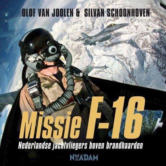 Boek cover Missie F-16 van Olof van Joolen (Onbekend)