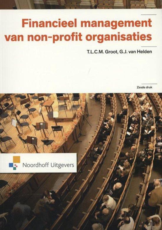 Financieel management van non-profit organisaties - T.L.C.M. Groot   Fthsonline.com