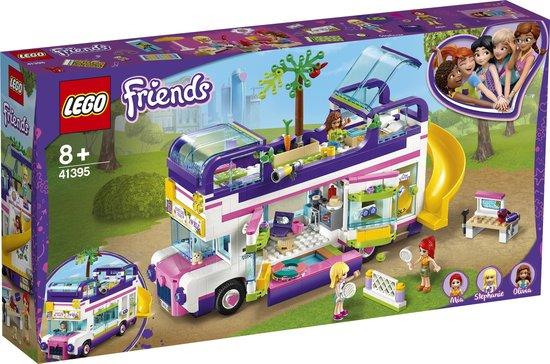 LEGO Friends Vriendschapsbus 41395 LEGO Heartlake City speelset, bouwset die urenlang creatief speelplezier biedt (778 onderdelen)