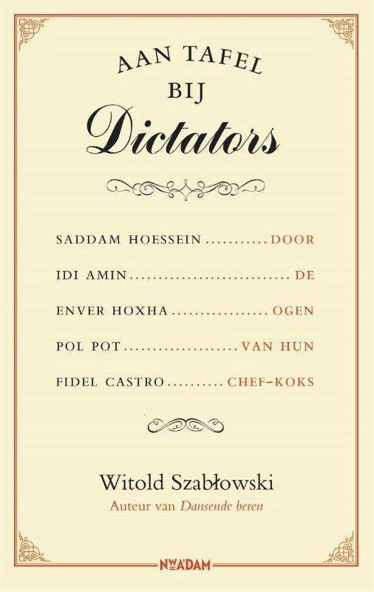 Afbeelding van Aan tafel bij dictators
