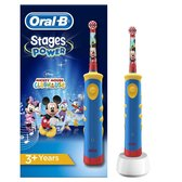 Oral-B Stages Power Kids - Elektrische Tandenborstels - Disney Mickey Mouse - Blauw