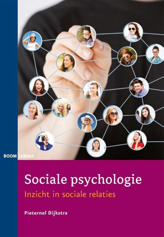 Sociale psychologie - Pieternel Dijkstra |