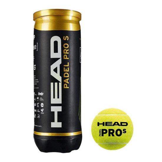 Head Padel Pro S padelballen - Officiële World Padel Tour padel ballen - 1...