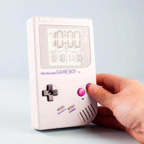 Paladone Wekker Nintendo Game Boy Wit