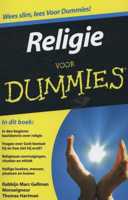 Cover van het boek 'Religie voor Dummies'