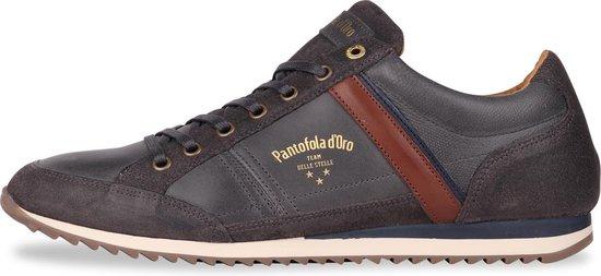 Pantofola d'Oro - Heren Sneakers Matera Uomo Low Dark Shadow - Grijs - Maat 45