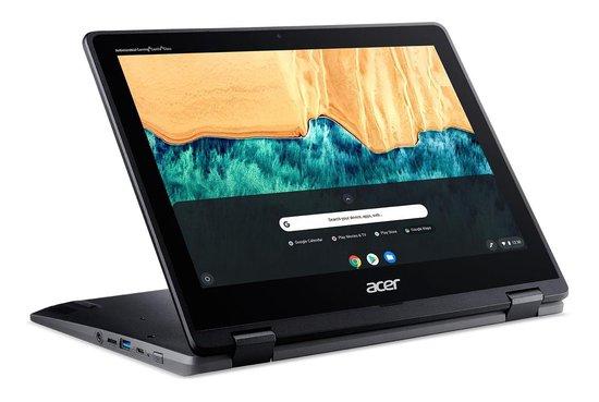Acer Chromebook Spin 512 R851TN-P5FV Zwart 30,5 cm (12'') 1366 x 912 Pixels Touchscreen Intel® Pentium® Silver 8 GB LPDDR4-SDRAM 64 GB eMMC Wi-Fi 5 (802.11ac) Chrome OS
