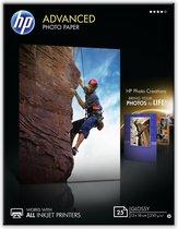 HP Q8696A Fotopapier - 13x18cm / 250g/m / 25 vellen