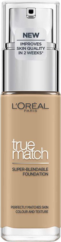 L'Oréal Paris True Match Foundation - 3.W Golden Beige  - Natuurlijk Dekkend