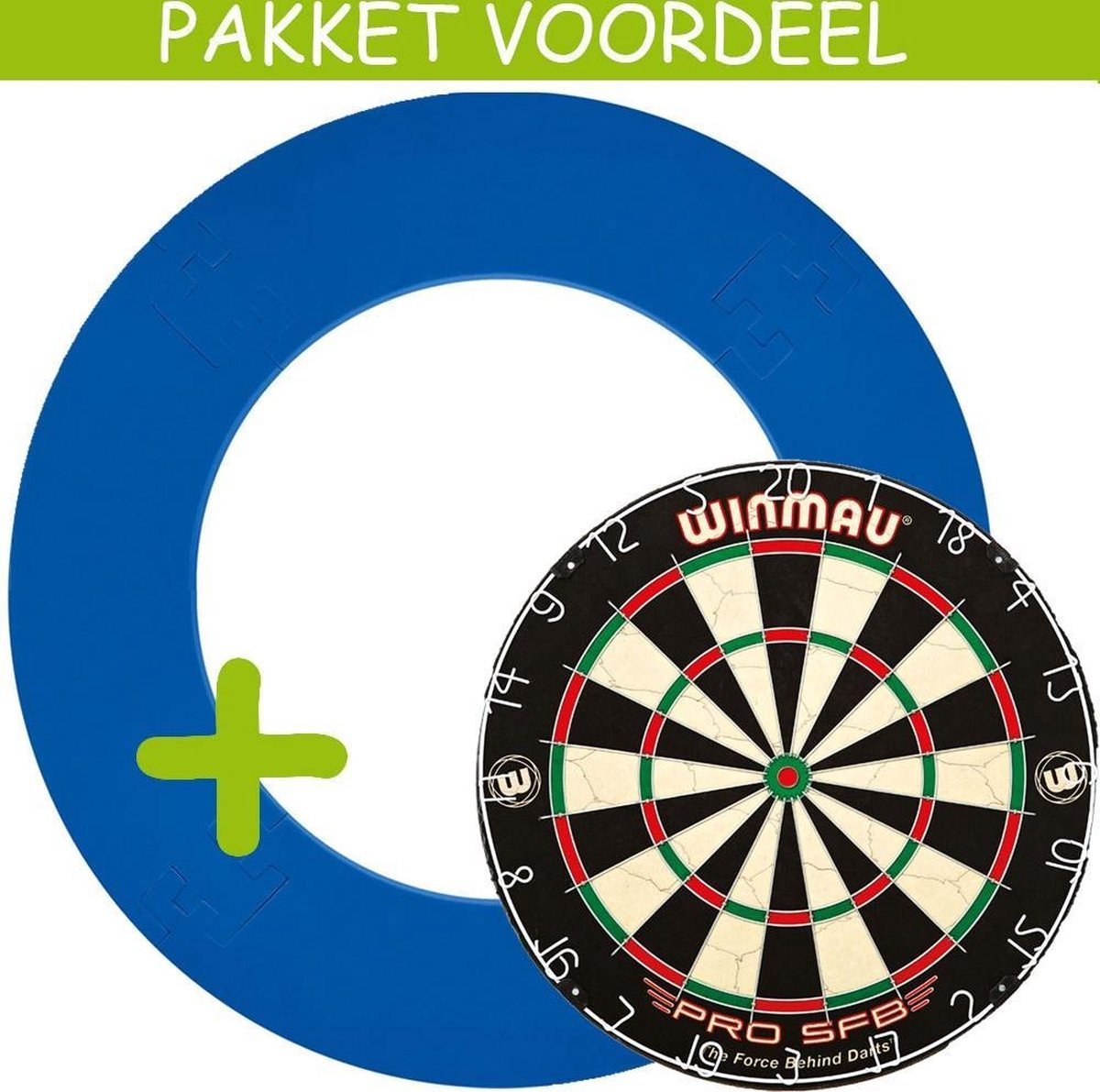Dartbord Surround VoordeelPakket - Pro SFB - EVA Surround-- (Aqua)