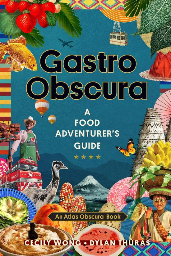 Boek cover Gastro Obscura van Cecily Wong (Onbekend)