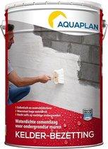 Aquaplan Kelder-Bezetting 20 Kg | kelderafdichting binnenzijde | Witte waterdichte cementcoating
