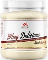 XXL Nutrition Whey Delicious - Proteïne Poeder / Proteïne Shake - Appeltaart 450 gram