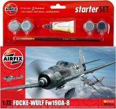 Airfix - S  Starter Set - Focke Wulf 190a-8